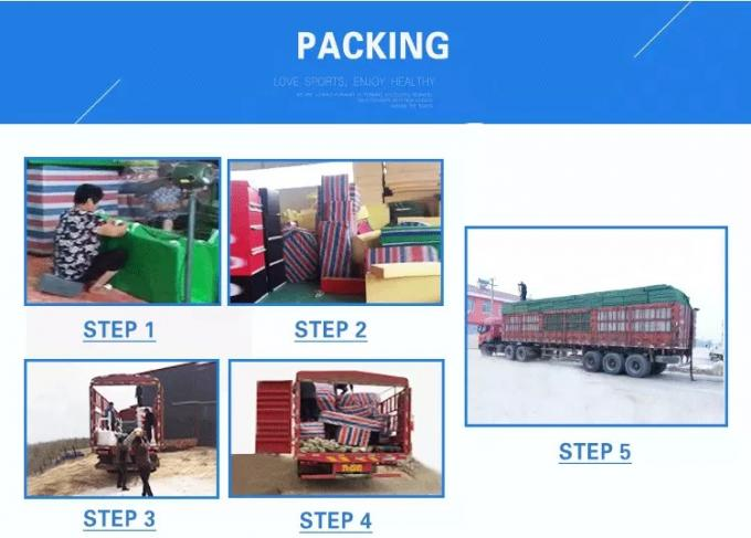 Standard export packaging for gymnastic spring board for training