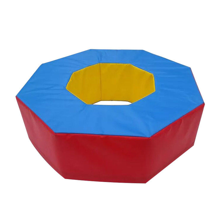 Anti Static Indoor Soft Play Toys Octagonal Shape With Eco Friendly PVC / EPE Foam