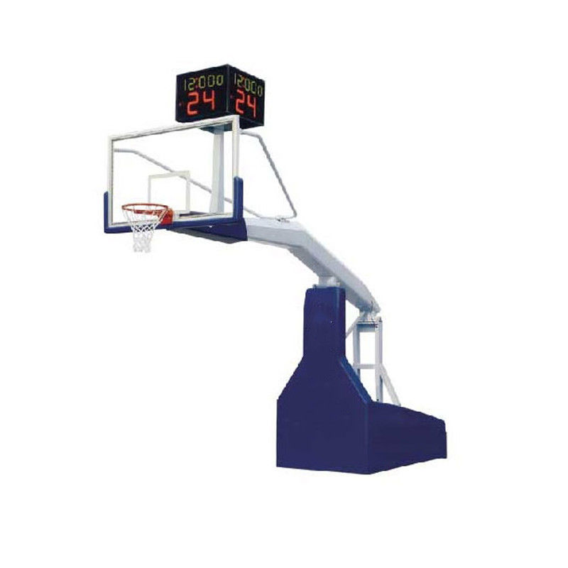 UV Protection Movable Basketball Stand / Adjustable Basketball Hoop Rust Proof