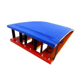 Bule Childrens Gymnastics Equipment 90 * 50 * 23CM Size Standard Spring Board