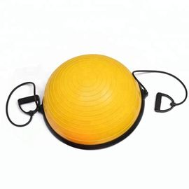 Light Weight Balance Trainer Half Ball , Half Yoga Ball With Anti Burst Air Pump
