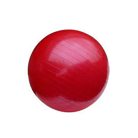 Non Slip PVC Inflatable Exercise Ball , 65CM Exercise Ball For Yoga Exercises