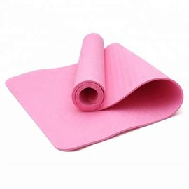 Eco Friendly NBR Yoga Mat , Non Slip Tumbling Mats For Home Any Color Available